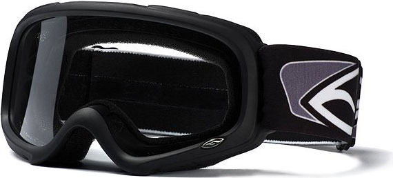 UFO PLAST Smith Gambler MX goggle col. black