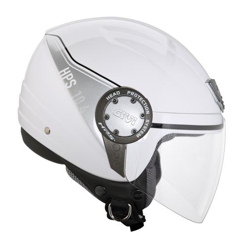 Jet Helmet Givi 10.4 White