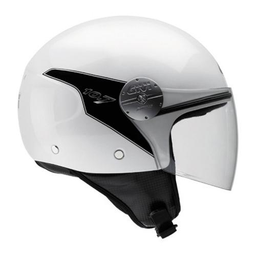 Jet Helmet Givi 10.7 Mini-J Pearl White