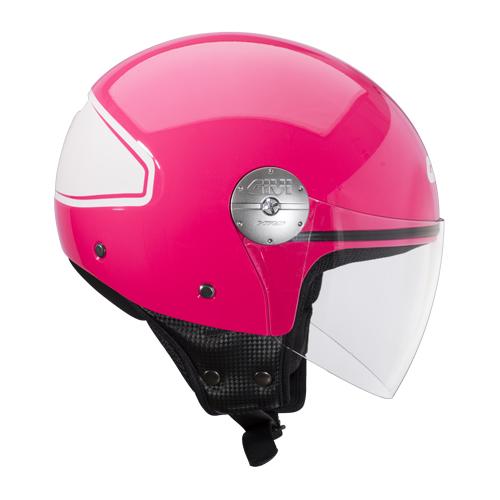 Givi 10.7 Mini-J jet helmet Summer Pink