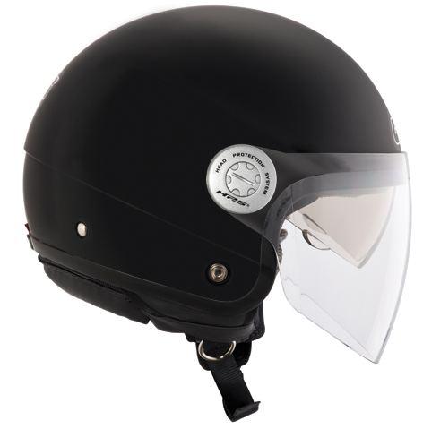 Jet Helmet Givi 10.8-J Urban Black Matte