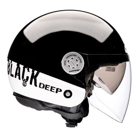 Givi 10.8 Urban-J City jet helmet Black