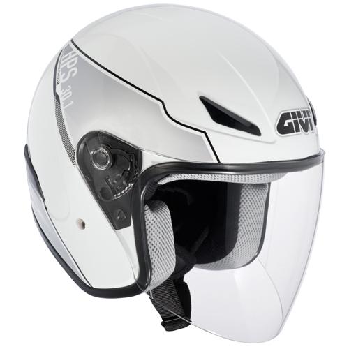 Jet Helmet Givi 30.1 J Street-White