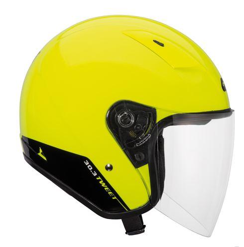 Givi 30.3 Tweet jet helmet Yellow
