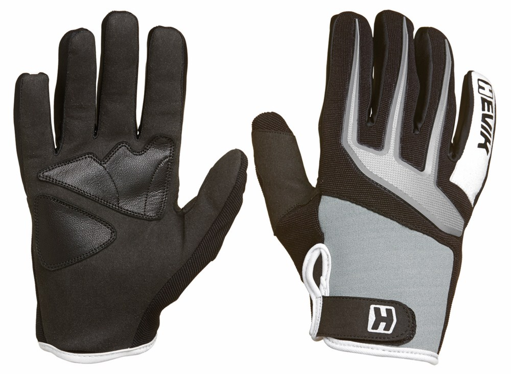 Gloves Summer Hevik Crux Grey Black