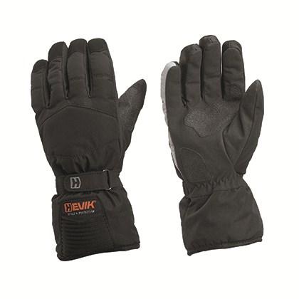 Hevik Amsterdam winter gloves Black