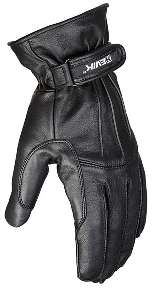 Women leather Gloves Black Hevik London