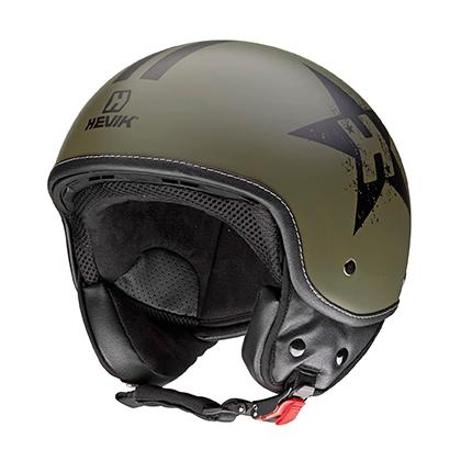 Hevik Star jet helmet Military green