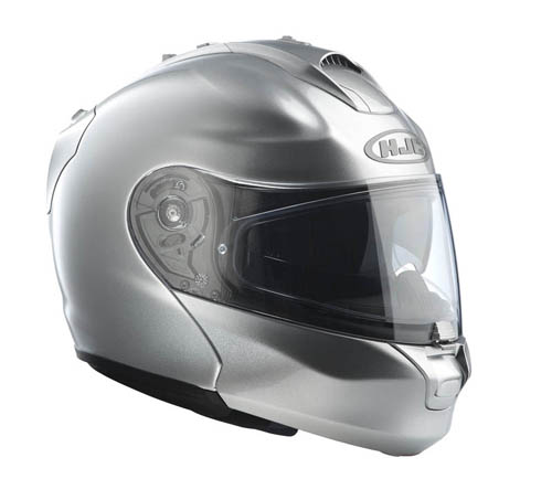 HJC RPHA MAX flip off helmet Silver