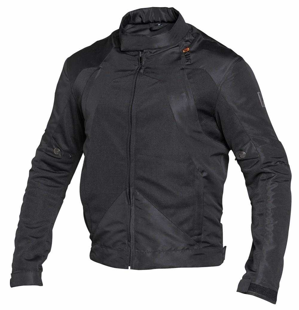 Motorcycle jacket summer Hevik Alfa Nero