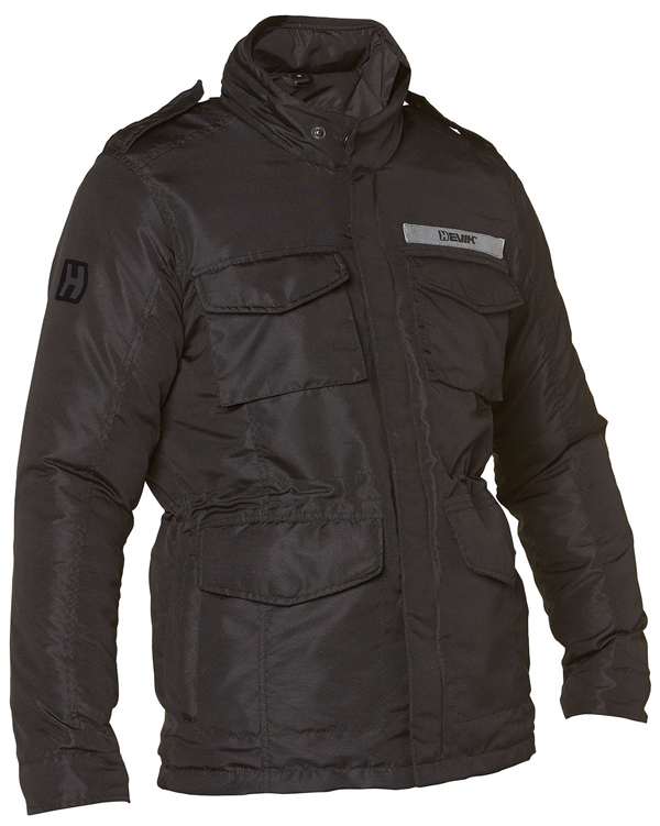 Motorcycle jacket Hevik Narvik Black 2 layers