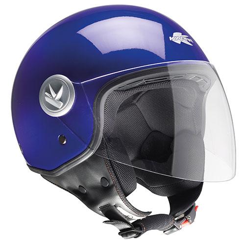 Kappa KV20 Rio long visor jet helmet dark Blue