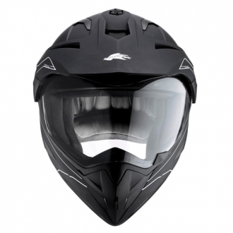 Casco cross Kappa KV10 Trail Nero opaco