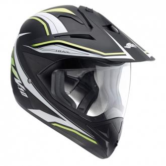 Cross helmet Kappa KV10 Trail Black Neon Yellow