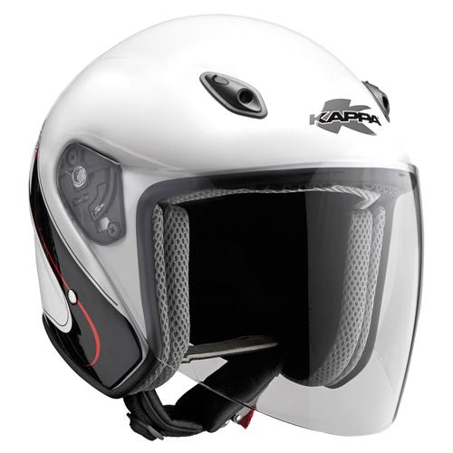 Jet helmet Kappa KV16 Fiber Glass