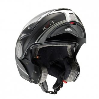 Kappa Kv1 Modular Helmet Matte Black