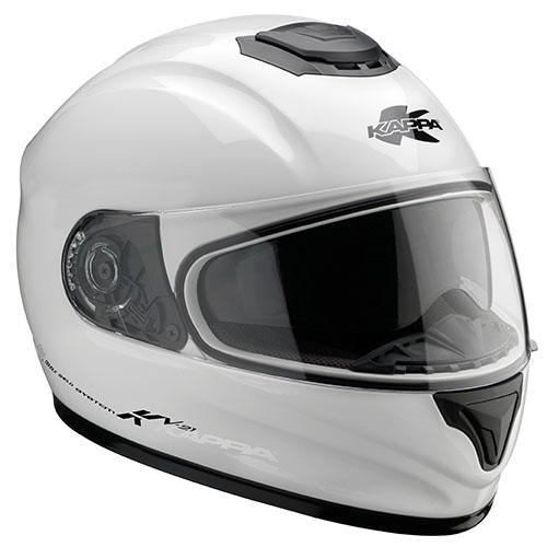 Kappa KV21 Toledo full face helmet White