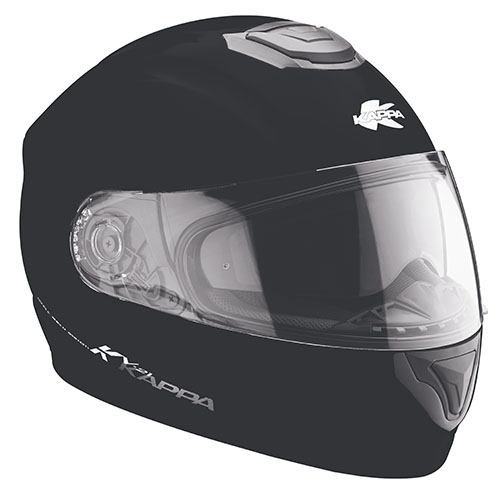 Kappa KV21 Toledo full face helmet matt Black