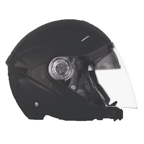 Kappa KV22 Florida jet helmet matt Black