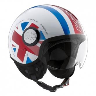 Jet helmet Kappa KV8 Flag UK
