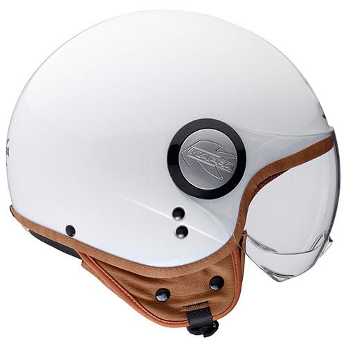 Kappa KV8 new look jet helmet White