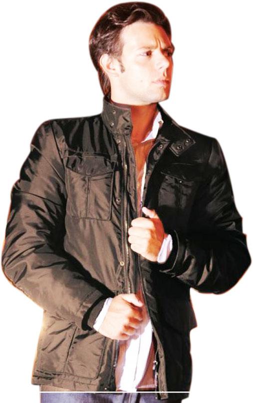 Humans motorcycle jacket Manhattan Dark Brown