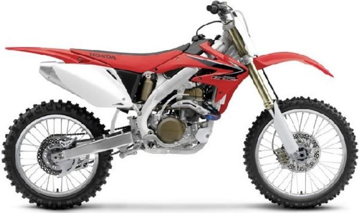 Kit plastiche moto Ufo Honda CRF 450cc 2013 Rosso
