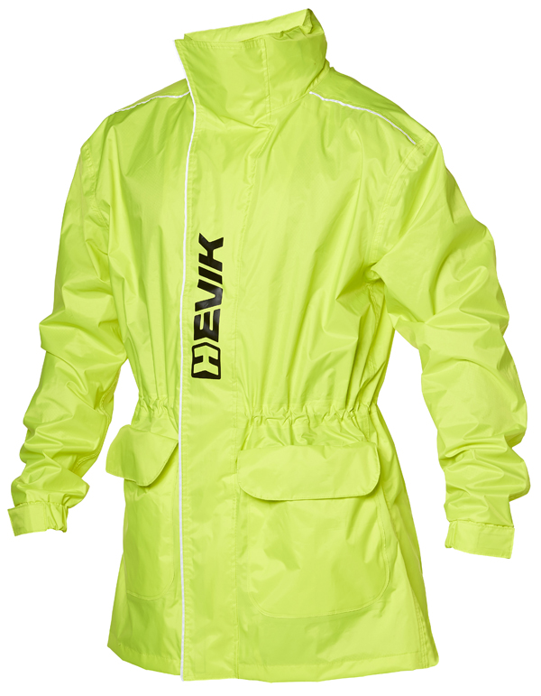 Hevik Parka Jacket Waterproof Fluorescent Yellow