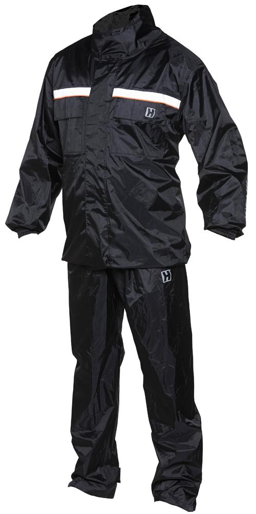Rain-piece suit Hevik Dry Plus Black