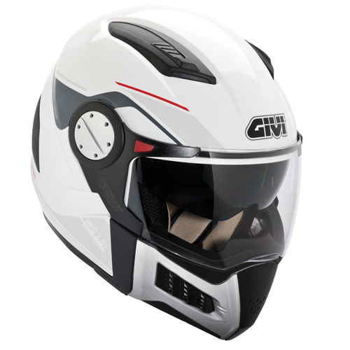 Casco modulare Givi X.01 Comfort Nero opaco