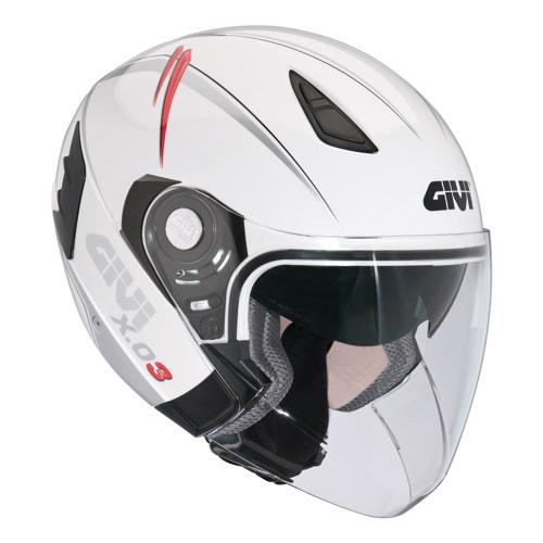 Givi X.03 White Modular Helmet Crossover