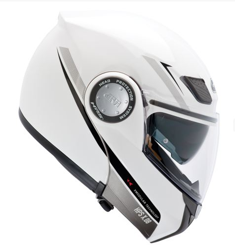 Givi X.08 modular helmet X-Modular White