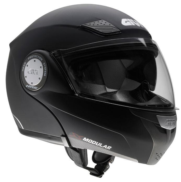 Givi X.08 modular helmet X-Modular Black