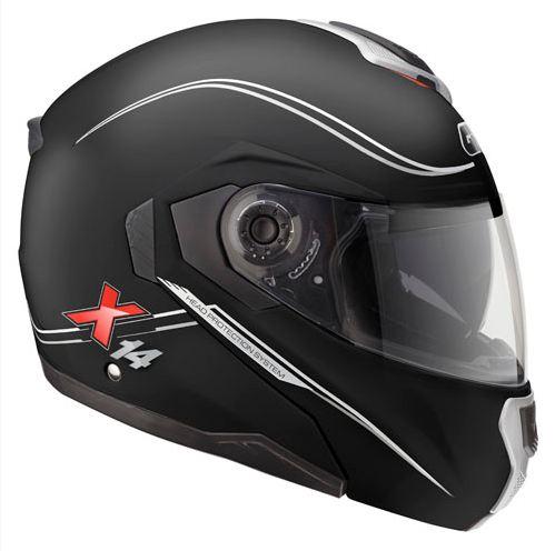 Modular helmet matte black Givi X.14 Shift