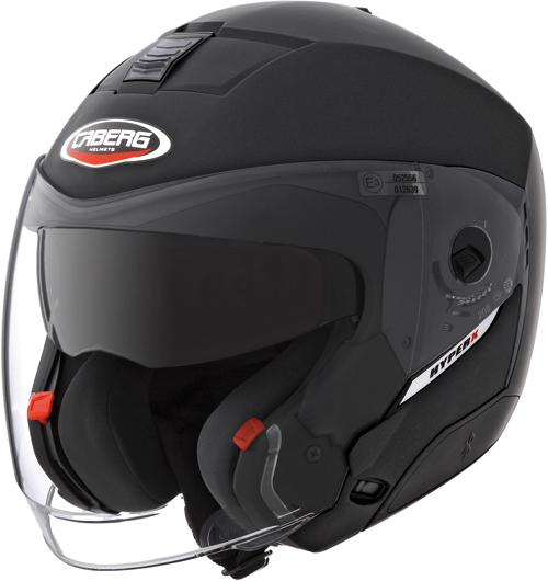 CABERG Hyper-X full-face helmet col. matt black