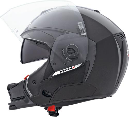 CABERG Hyper-X full-face helmet col. nero lucido