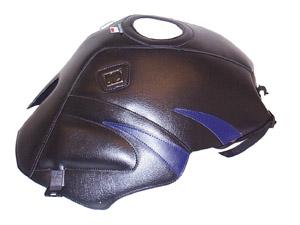 Copriserbatoio Bagster Yamaha TDM 850. Nero/Blu