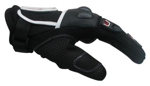 MTech Action summer gloves Black-White-Red