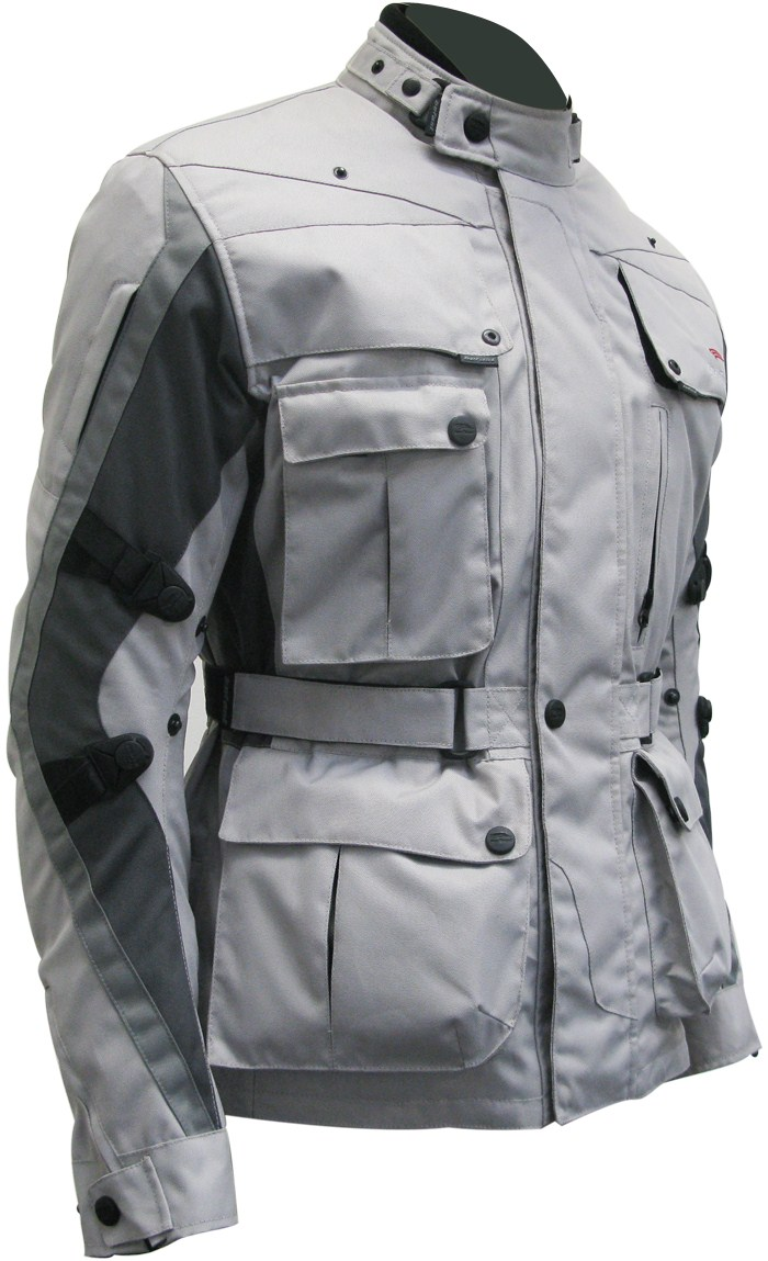Four Climath Befast motorcycle jacket4 seasons Grey Anthracite