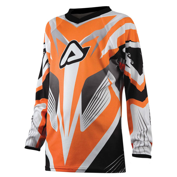 Acerbis Impact Junior kid cross jersey Orange