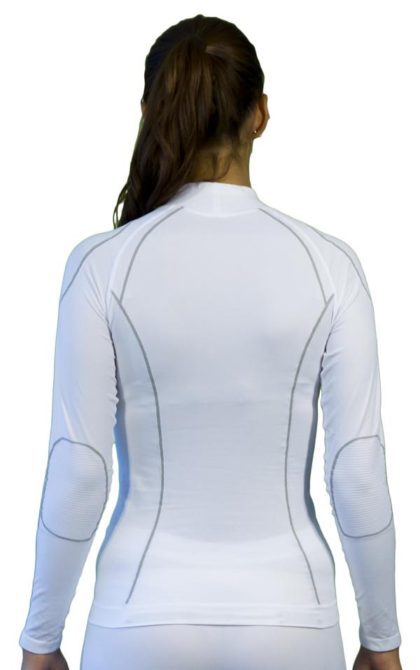 Women long sleeve turtleneck Mico Warm White Skin