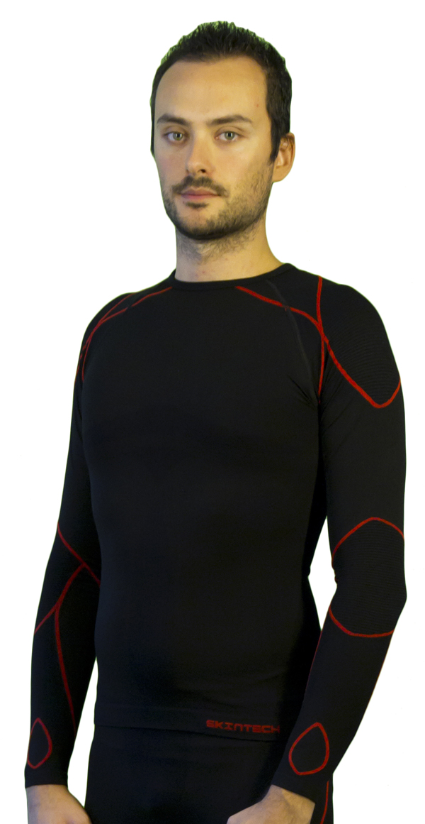 Long sleeve Mico Warm Black Skin