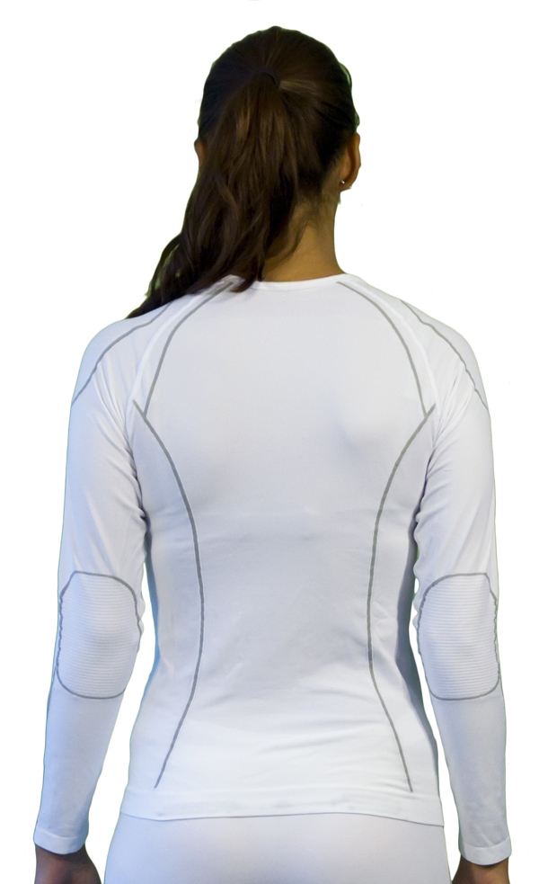 Long sleeve woman Mico Warm White Skin