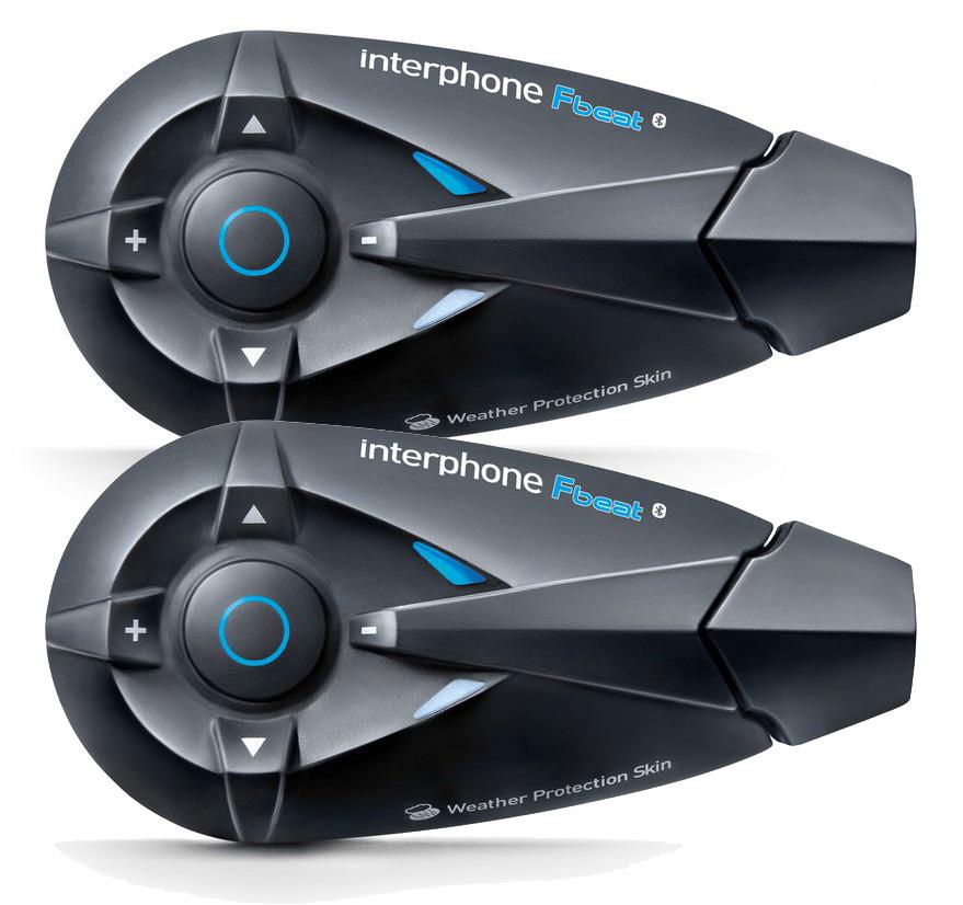 Interfono Bluetooth Cellular Line FBeat per due caschi