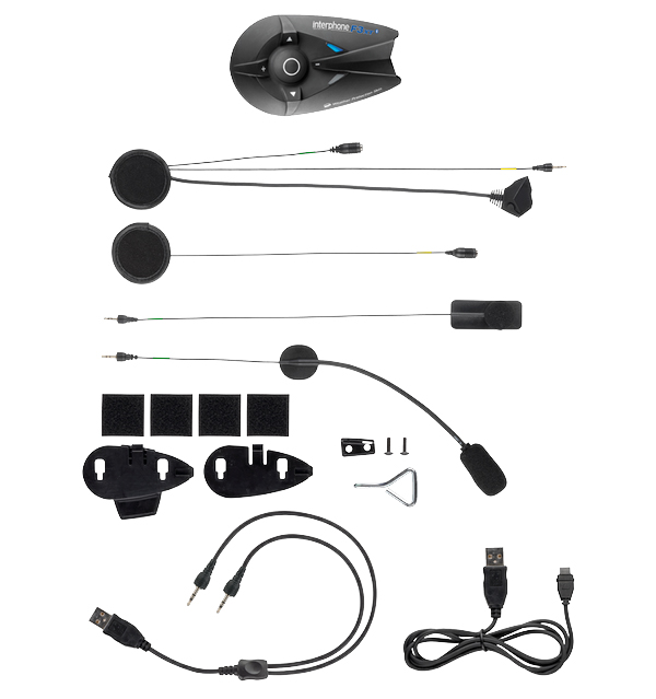 Interfono Bluetooth F3XT kit singolo Cellular Line
