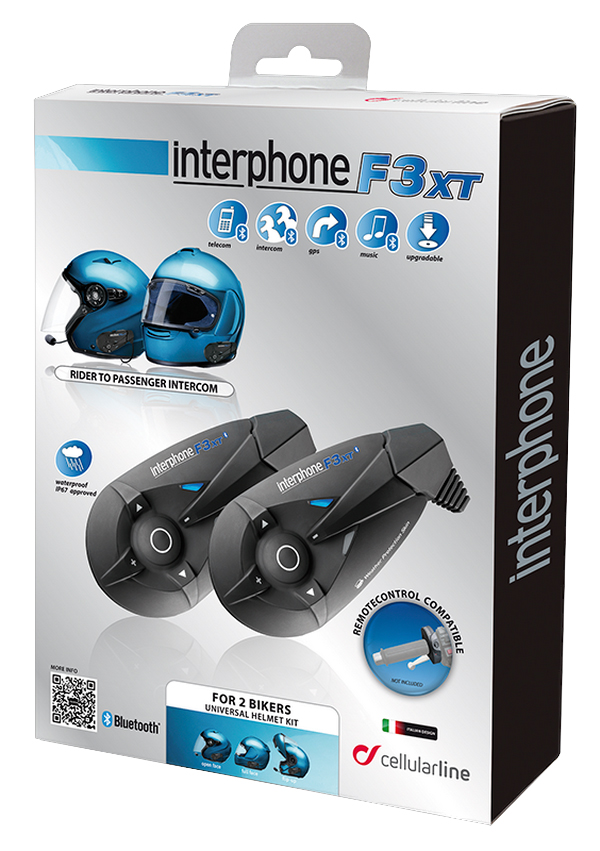 Cellular Line F3XT interphone twin pack