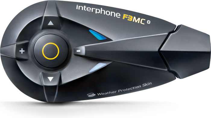 Interfono Bluetooth Cellular Line F3MC da casco singolo