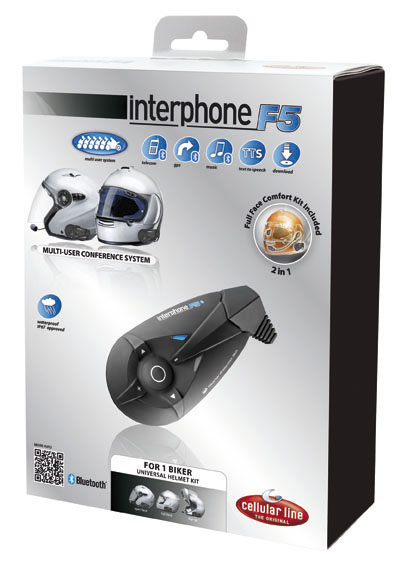 Interphone 5 Conference Cellular Line universal-single kit