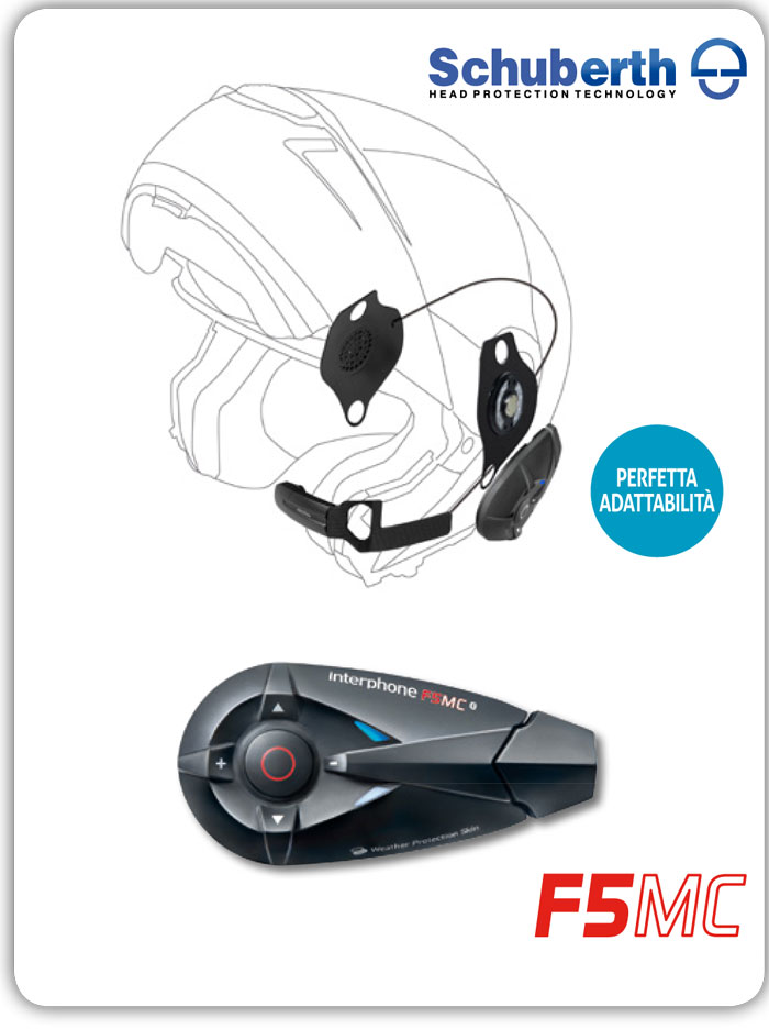 Cellular Line F5MC + Pro Sound Schuberth Bluetooth interphone