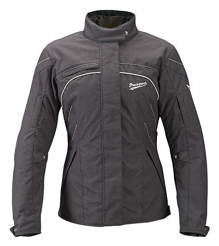 Prexport Iris 3 layer woman waterproof jacket Black